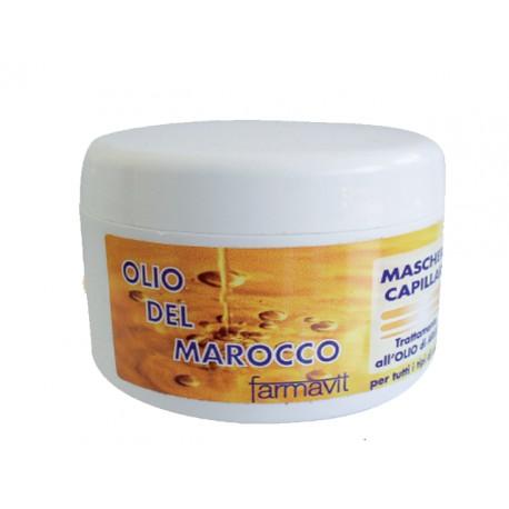 Maschera capillare olio del marocco - trattamento all'olio di argan per tutti i tipi di capelli