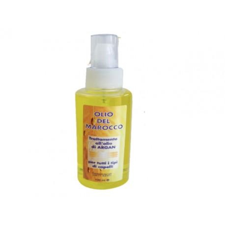 Trattamento all'olio di argan per tutti i tipi di capelli