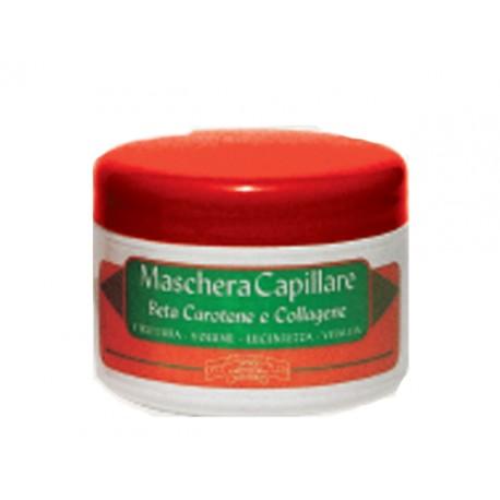Maschera capillare estratti di beta carotene e collagene